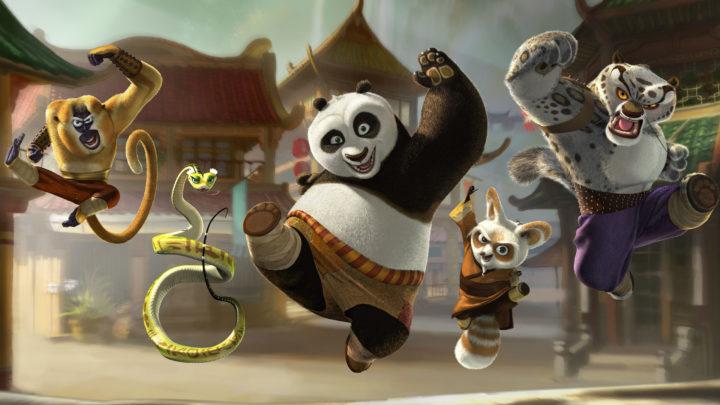Панда кунгфу Спасение Долины Мира