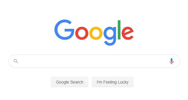 Google - новый дизайн главной страницы